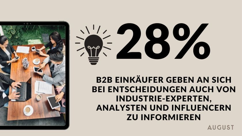 B2B Influencer marketing Einkauf