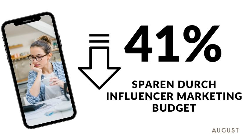 Influencer marketing ersparnis
