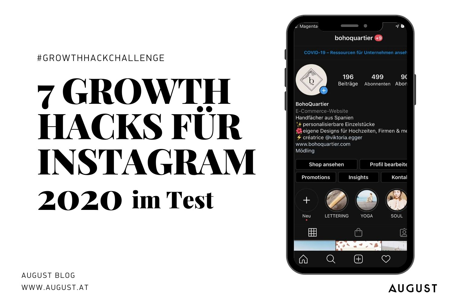 7 growth hacks instagram 2020