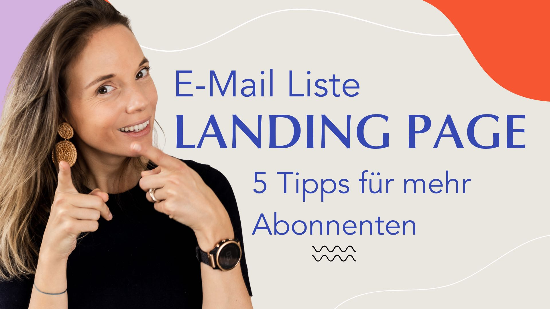 E-Mail Liste Landing Page Tipps